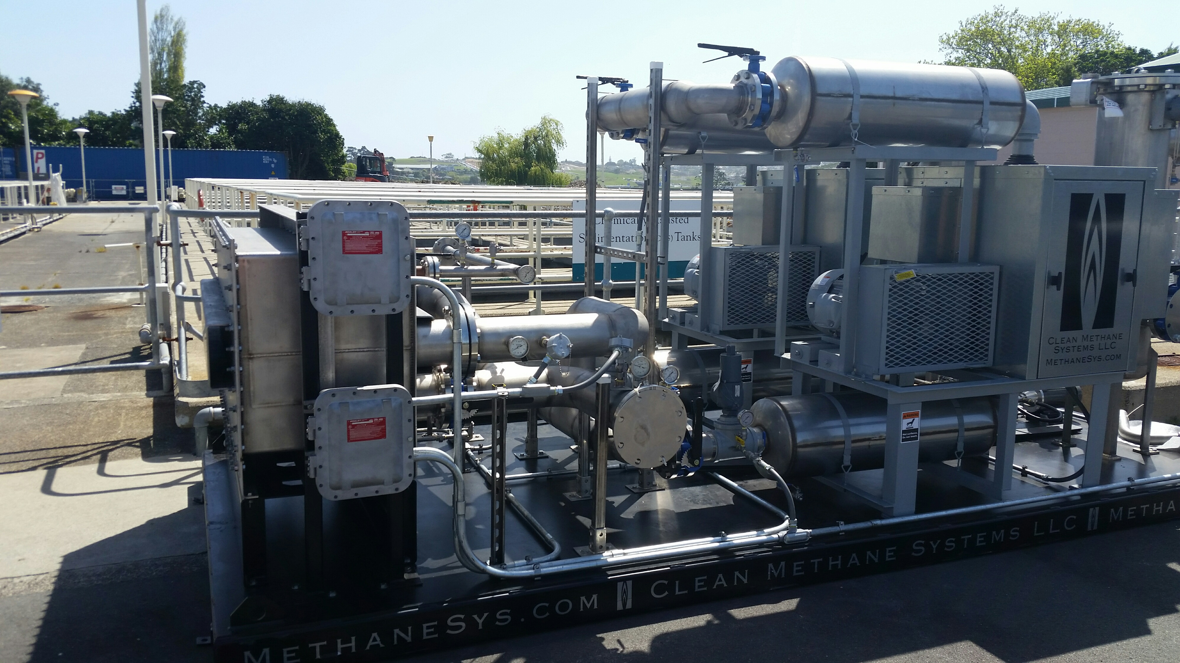 New Gas Engine at Rosedale Treatment Plant