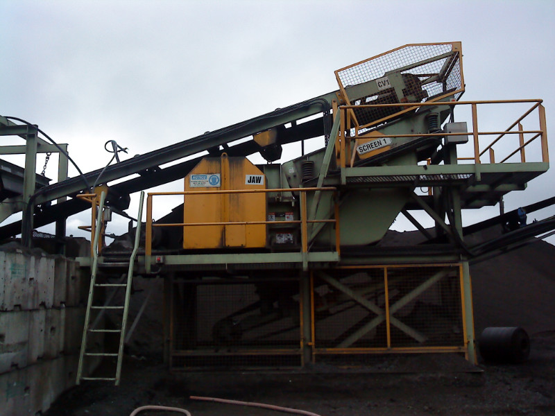 Slag Plant Screen